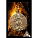 MEDAILLE SAINT EXPEDIT PLAQUE OR