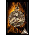 MEDAILLE SAINTE RITA  PLAQUE OR