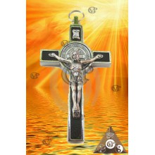 CRUCIFIX SAINT BENOIT gm